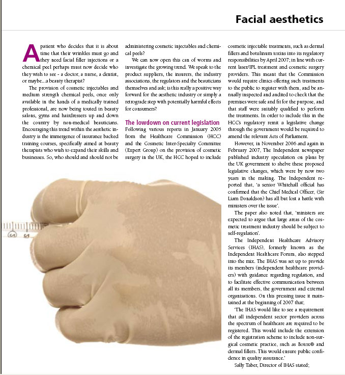 Aesthetic Dentistry Today - The Future of Injectables and Peels - Page 2
