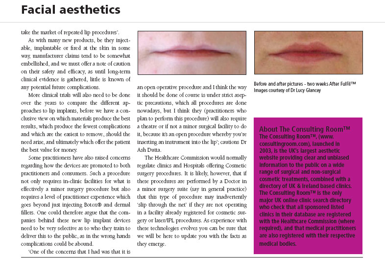 Aesthetic Dentistry Today - Time to Pucker Up! - Page 3
