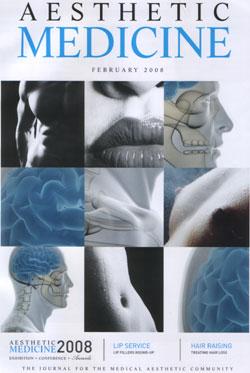 Aesthetic Medicine February 2008 Cover
