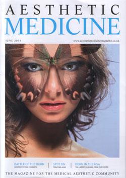Aesthetic Medicine June 2008 Cover