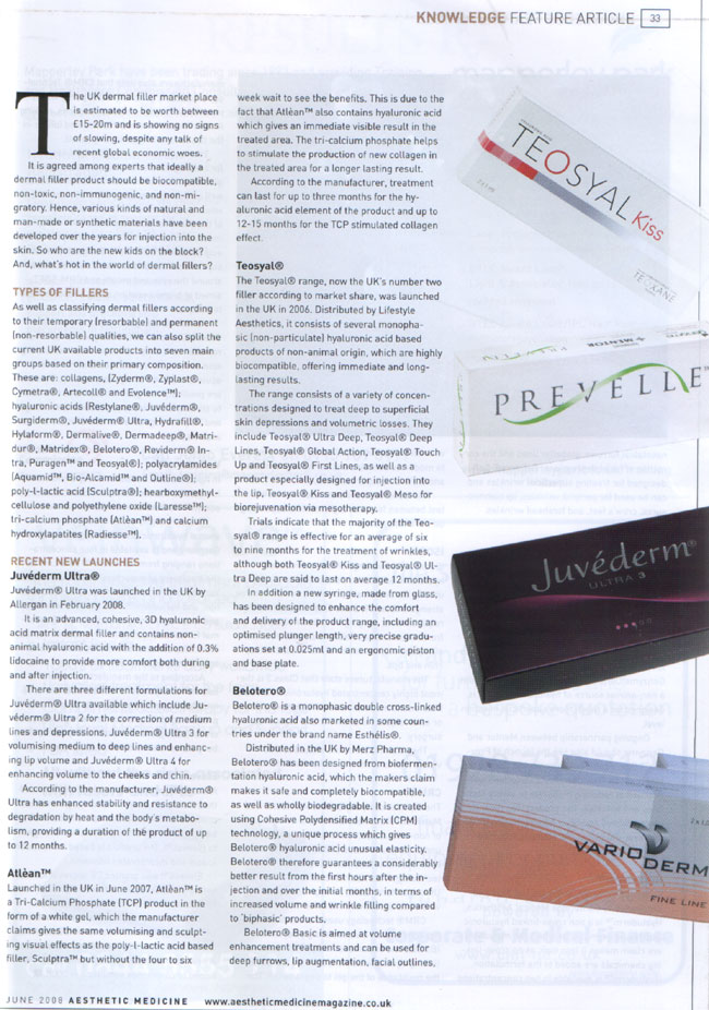Aesthetic Medicine - June 2008 - New Kids on The Block Page 2