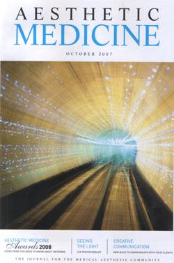 Aesthetic Medicine Magazine October 2007 Cover