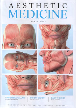 Aesthetic Medicine Magazine April 2007 Cover
