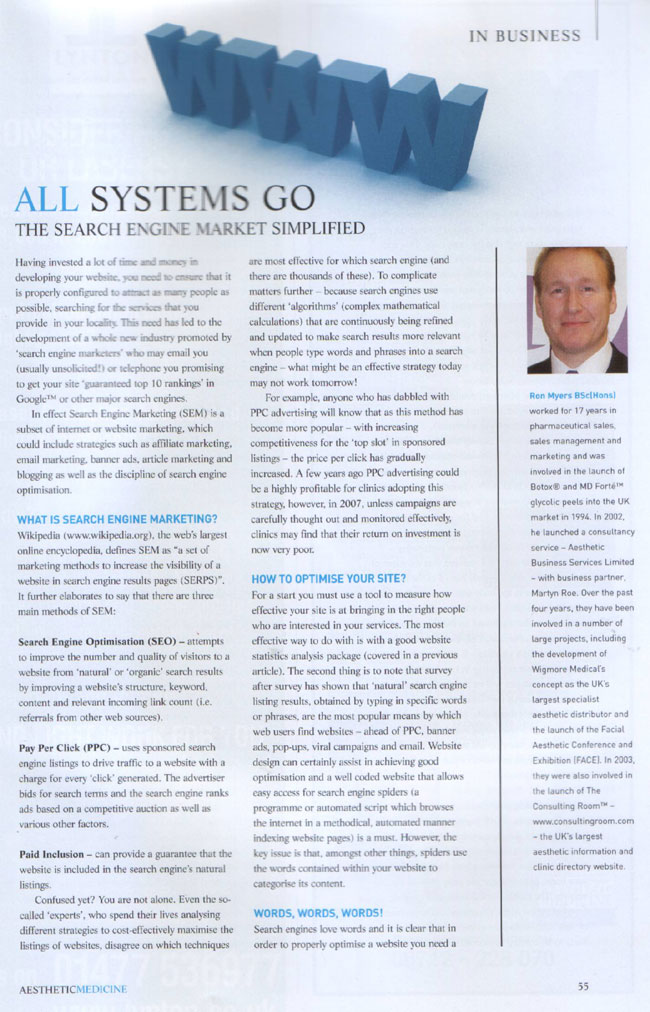 All Systems Go - The Search Engine Market Simplified - Page 1