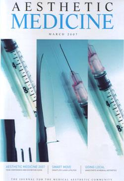 Aesthetic Medicine Magazine March 2007 Cover