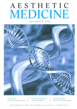 Aesthetic Medicine November 2006 Cover