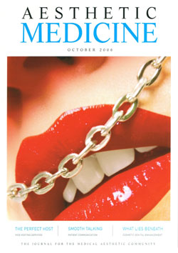 Aesthetic Medicine Cover October 2006