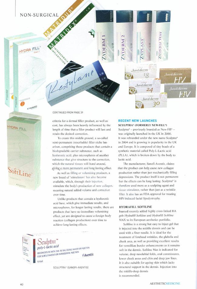 Aesthetic Medicine - Evolution of the Dermal Filler Page 2