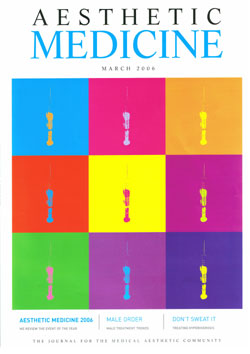 Aesthetic Medicine March 2006 Cover