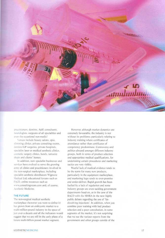 Aesthetic Medicine Nov 2005