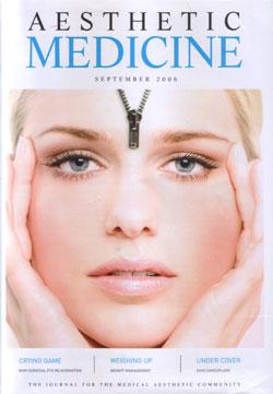 Aesthetic Medicine September 2006 Cover