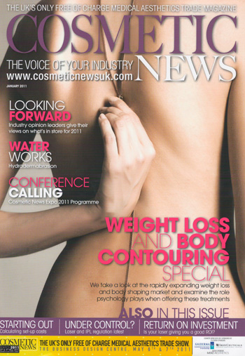 Cosmetic News January 2011 Cover