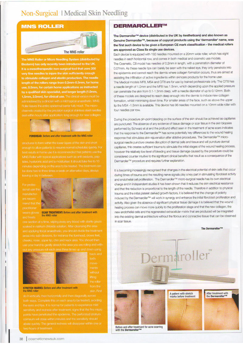 Cosmetic News - Pins & Needles Page 2
