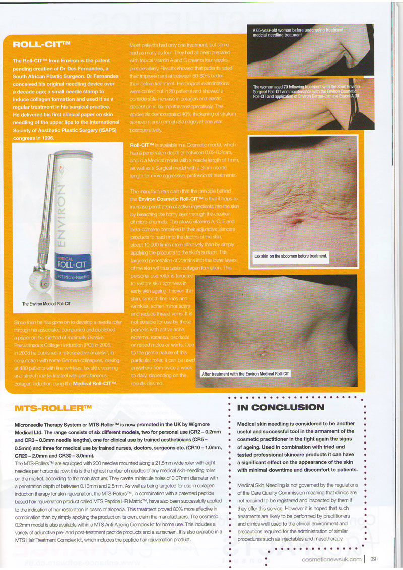 Cosmetic News - Pins & Needles Page 3