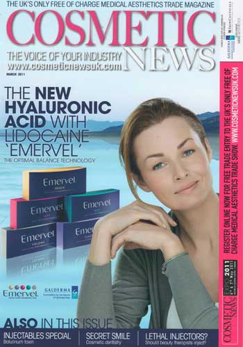 Cosmetic News March 2011 Cover