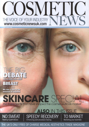 Cosmetic News Issue 2 Front Cover