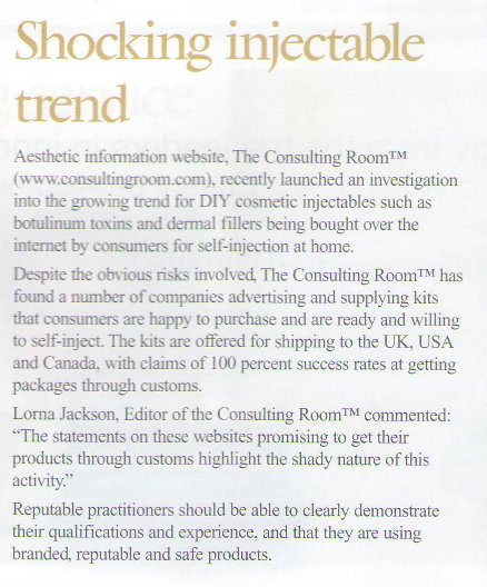 Guild News - Shocking Injectable Trend