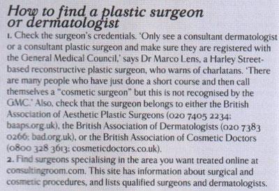 Soft Surgery Fact Box