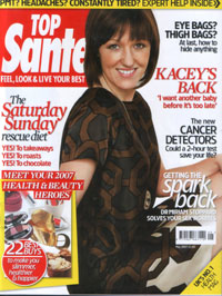 Top Sante Magazine May 2007 Cover