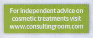 Top Sante - For Independent Advice on Cosmetic Treatments Visit www.consultingroom.com