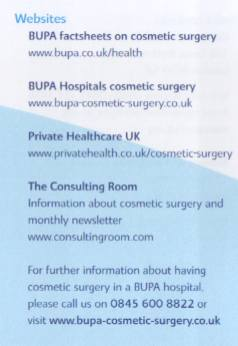 BUPA Websites