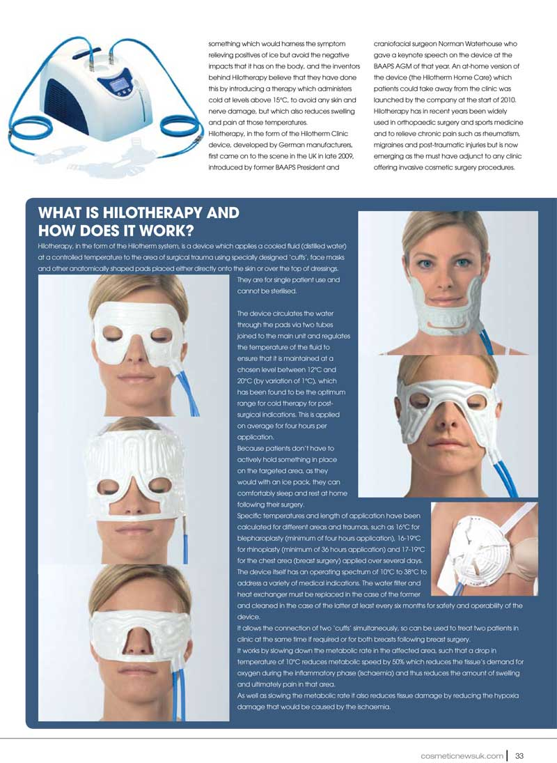 Cosmetic News - Hilotherapy - Page 2