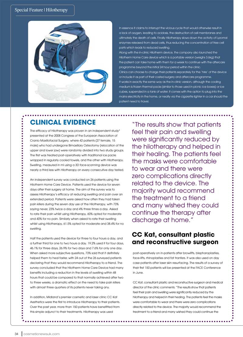 Cosmetic News - Hilotherapy - Page 3