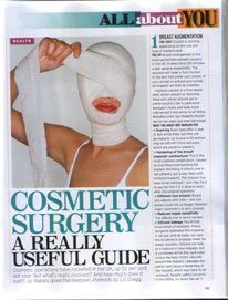 Cosmetic Surgery A Really Useful Guide Page 1