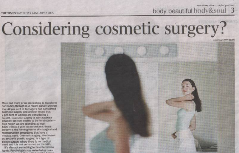 The Times - Considering Cosmetic Surgery