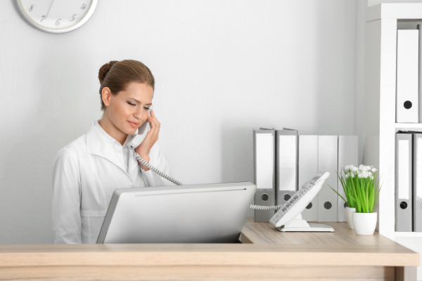 Receptionist Telephone Training