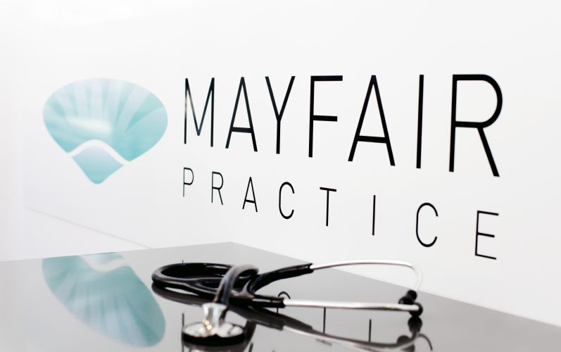The Mayfair Practice Banner