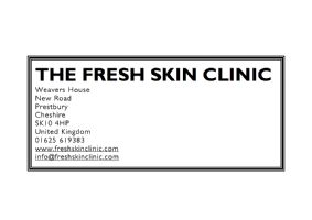 Fresh Skin Clinic Logo
