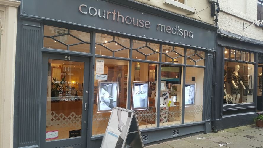 Courthouse Medispa Hereford Banner