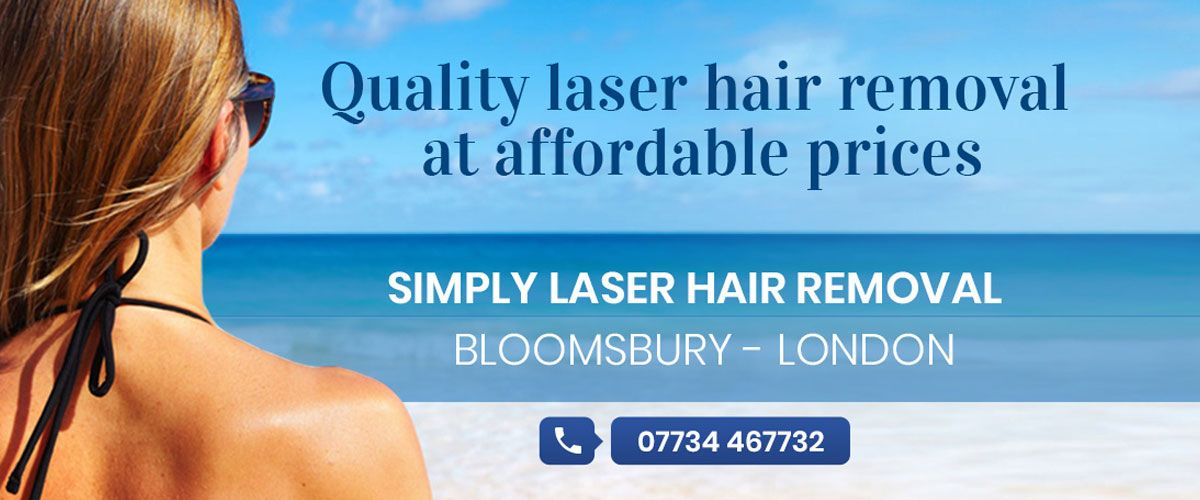 Simply Laser Hair Removal  Banner