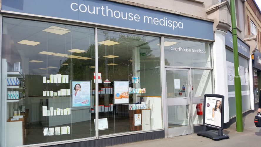 Courthouse Medispa Haywards Heath Banner