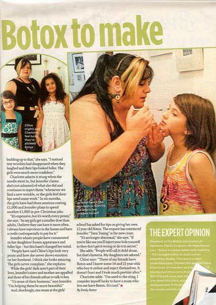 Teen Toxing - Closer Magazine