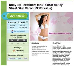 Are these the highest value cosmetic surgery deals ever on Groupon?