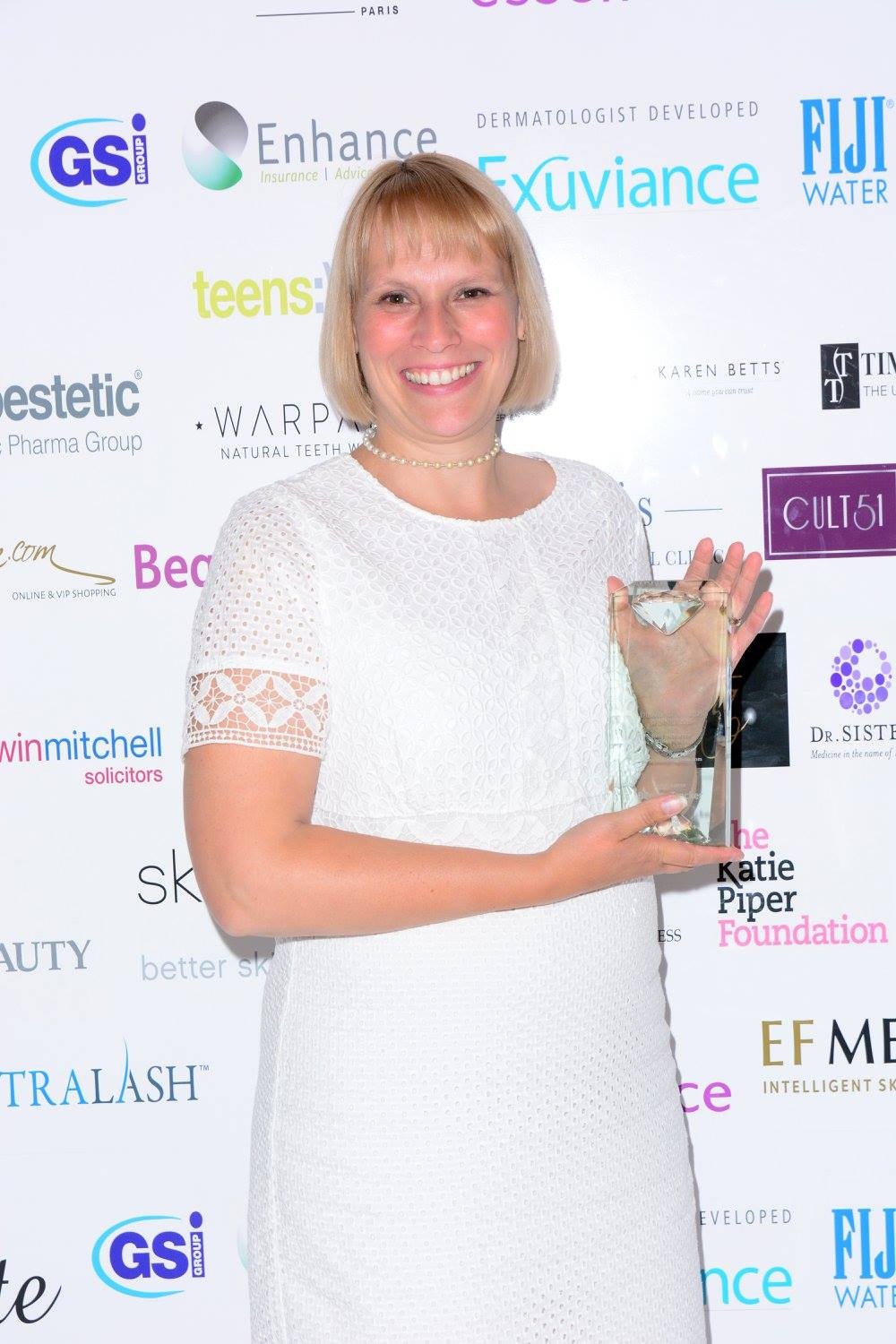 Safety in Beauty Diamond Award 2016 for Best Industry Media Outlet - Lorna Jackson, Editor