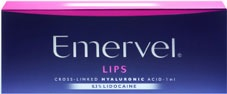 dermal fillers emerval brand for lips