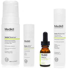 The range of Medik8 products