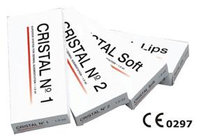 Cristal Hyaluroni Acid Dermal Filler Range